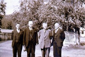 From left: Sigurd Bratlie, Johan Oscar Smith, Elias Aslaksen and Andreas Nilsen.