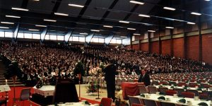 About 3300 people attended Sigurd Bratlie's funeral.