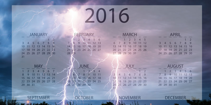 2016 – The year the world fell apart?