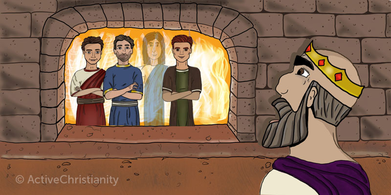 Shadrach, Meshach, and Abed-Nego: Nothing could motivate them to sin